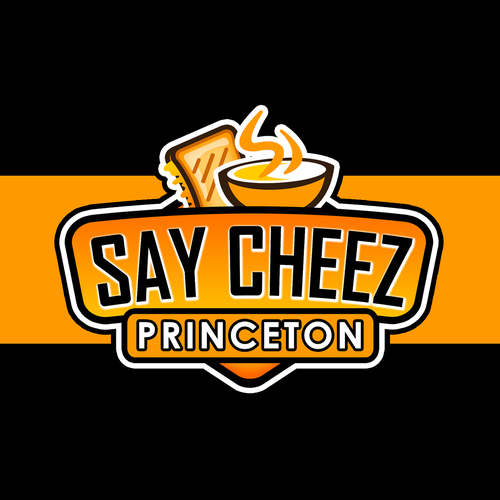 Cheese logo with the title 'Say Cheez Cheezy logo Design'