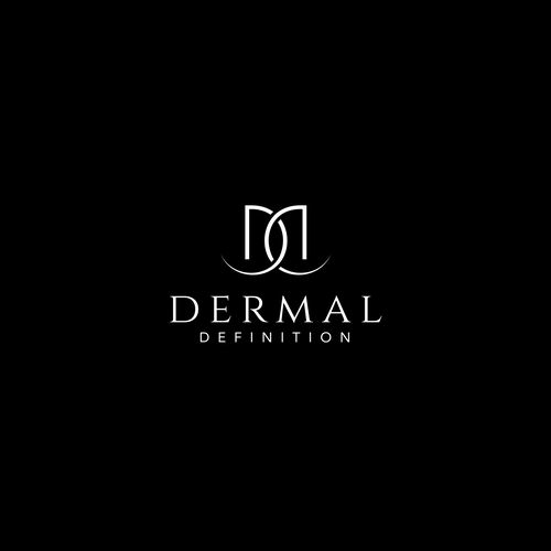 Treatment logo with the title 'Logo Concept for Dermal Definition'