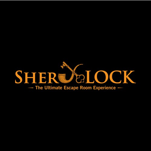 Lock logo with the title 'SHERLOCK'