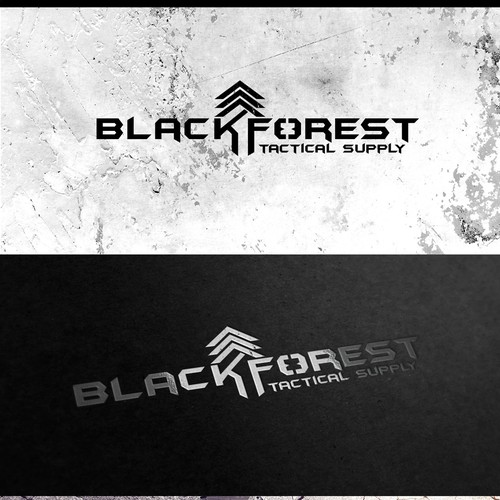 Combat design with the title 'Blackforest Tactical'
