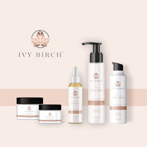 Sophisticated label with the title 'Discover this awesome labels designs for IvyBirch™'