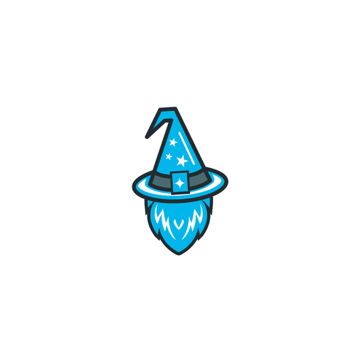 Beard brand with the title 'Logo concept for TechWiz servies'