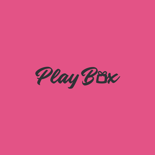 Gift box logo with the title 'Play Box'