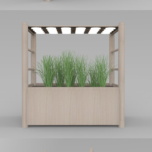 LED lighting design with the title 'home garden design'