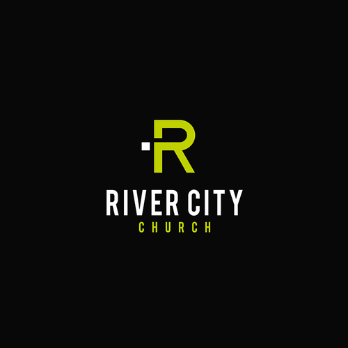 Riverside logo with the title 'Logo concept for River City Church'
