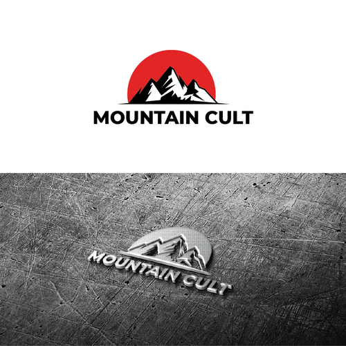 Peak design with the title 'Mountain Cult'