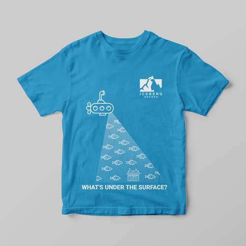 Treasure design with the title 'What's under the surface?'