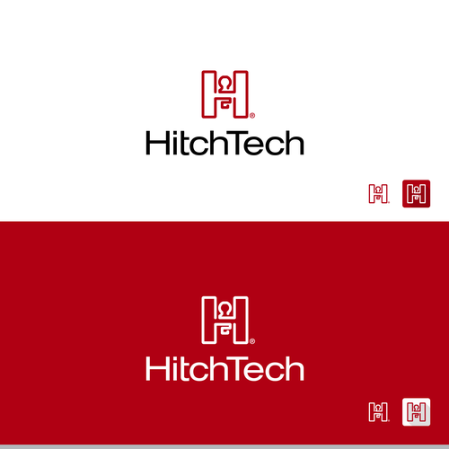 H logo with the title 'Hitch Tech logo'