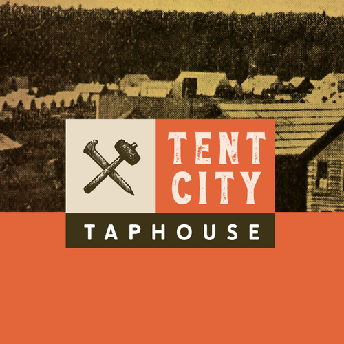 Alaska design with the title 'Id for a taphouse'