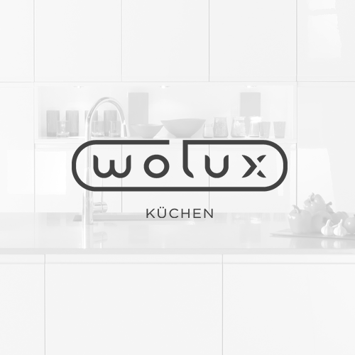 Bathroom design with the title 'Wolux'