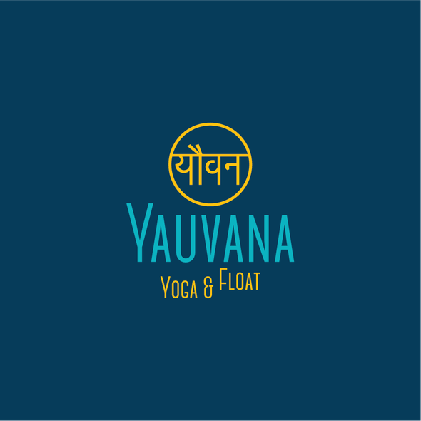 Float logo with the title 'Yoga logo.'