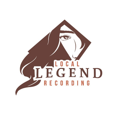 Mysterious design with the title 'Local Legend Recording '
