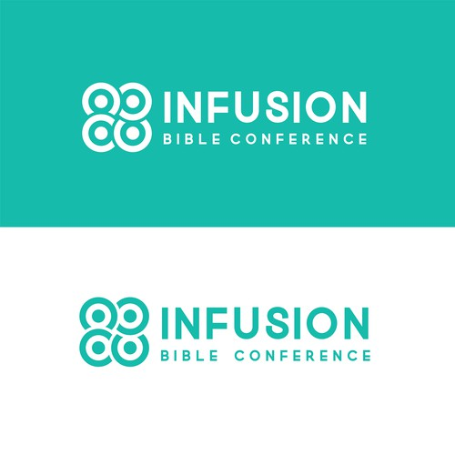 Jesus logo with the title 'Infusion Bible conference'