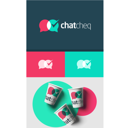 Smart logo with the title 'chat cheq'