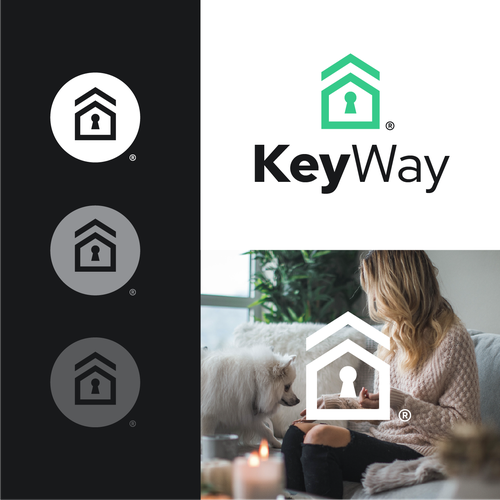 Rooftop logo with the title 'KeyWay'