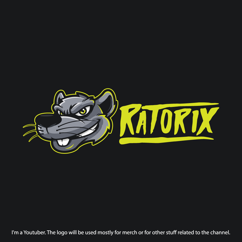 Rat design with the title 'Ratorix Design Contest Entry'