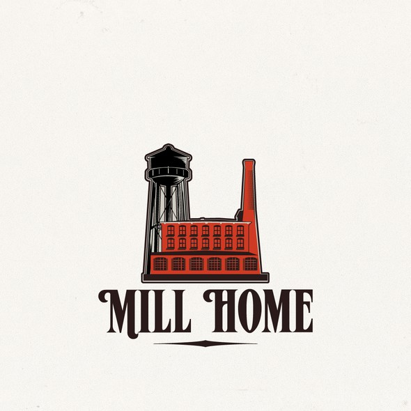 Chimney design with the title 'Mill House'