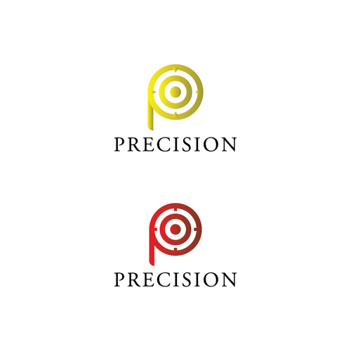 Precision logo with the title 'Logo for billiard Supplies'