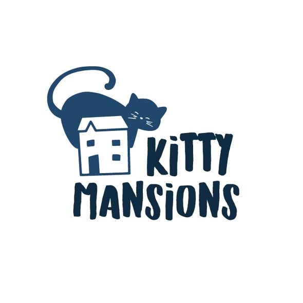 Cat brand with the title 'Kitty home'