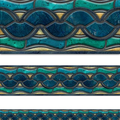 Swimming pool tile pattern design
