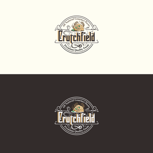 Healthy food brand with the title 'Crutchfield'