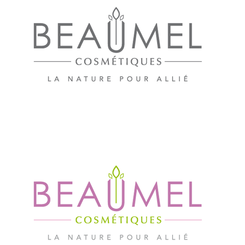 French logo with the title 'BEAUMEL COSMETIQUE'