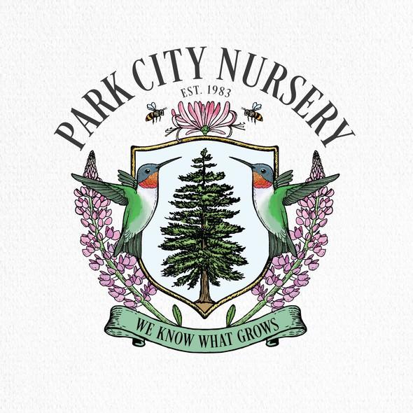 Park logo with the title 'Park city'