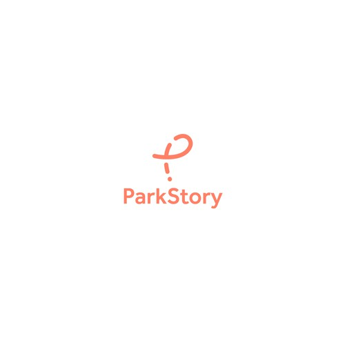 Parking logo with the title 'ParkStory'