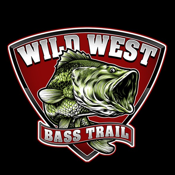 Bass design with the title 'Wild West Bass Trail'