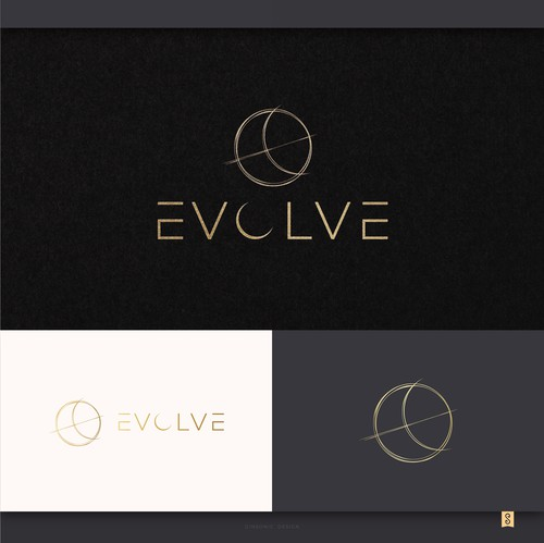 Celebrity design with the title 'EVOLVE'