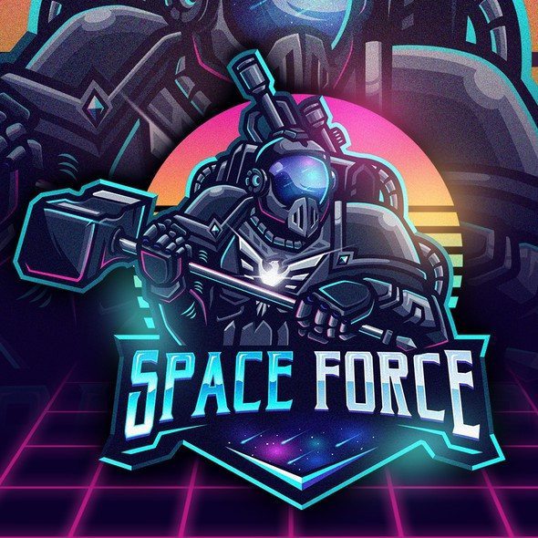 Guardian logo with the title 'Space Force'