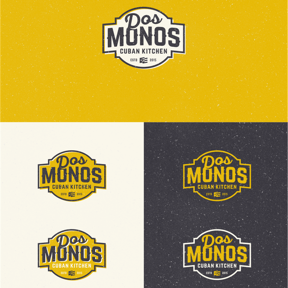 Mexican brand with the title 'Dos Monos Food Truck'