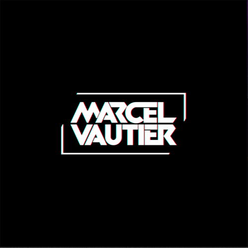 Electronic music logo with the title 'Bold, masculine dj logo for Marcel Vautier'