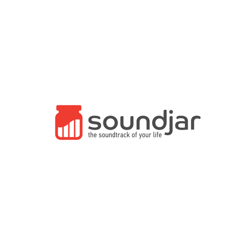 Soundwave logo with the title 'Logo for Sound Jar'