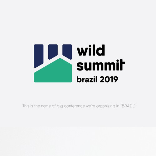 Brazil logo with the title 'wild summit brazil 2019'