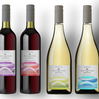 Wine Label Design - re fresh