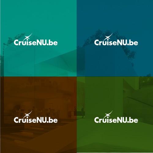 Cruise ship logo with the title 'cruise logo'