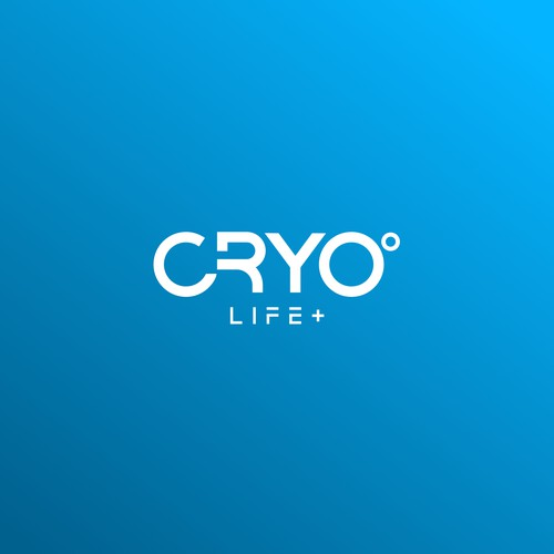 Cryotherapy logo with the title 'Cryotherapy Logo'