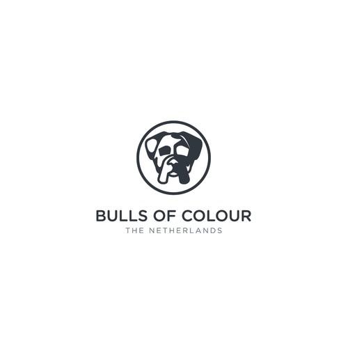 Rottweiler logo with the title 'Bulldog Logo'