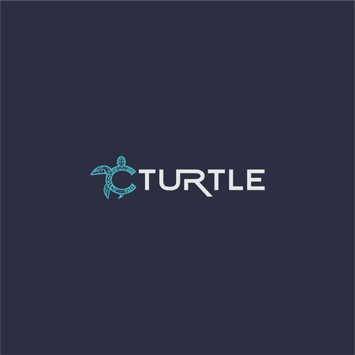 Diving logo with the title 'Cturtle logo'