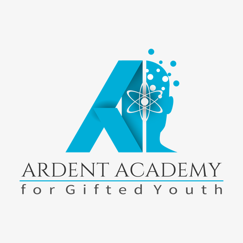 Atomic design with the title 'Ardent Academy'