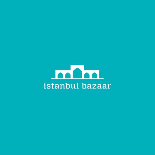 Bazaar logo with the title 'Bazaar Logo'