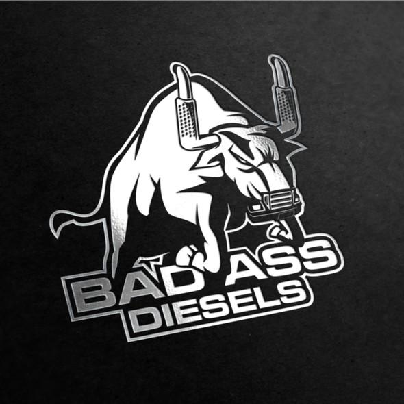 Diesel design with the title 'Badass logo for Badass Diesels'