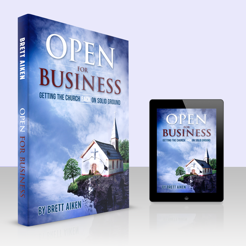 Christian book cover with the title 'Open for Business'
