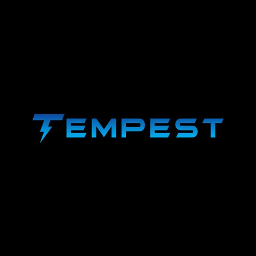 Light logo with the title 'Logo Design for Tempest'