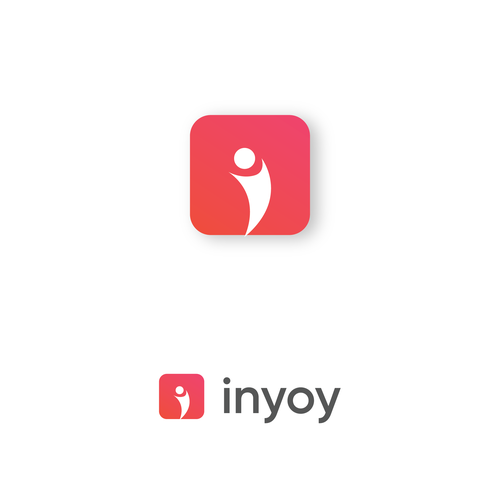 Enjoy design with the title 'Icon for inyoy app'
