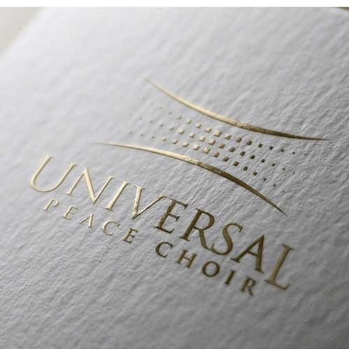 Virtual logo with the title 'logo choir '