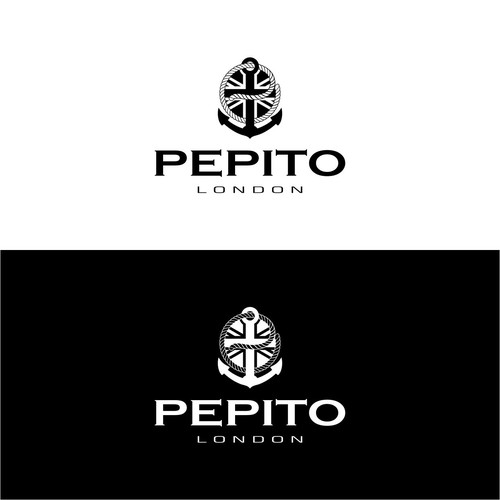 Rope logo with the title 'PEPITO LONDON'