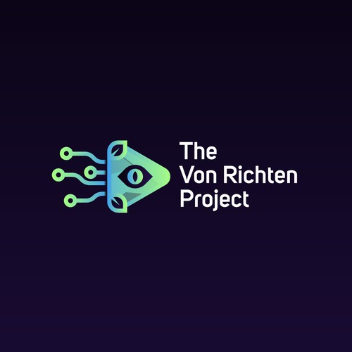 Vibrant design with the title 'The Von Richten Project'