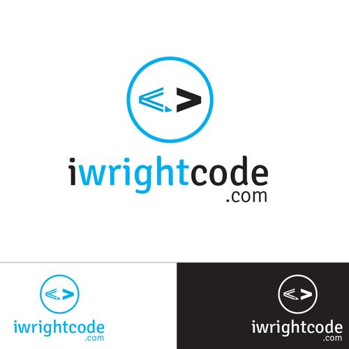 Web development logo with the title 'Logo for independent web designer/software developer'